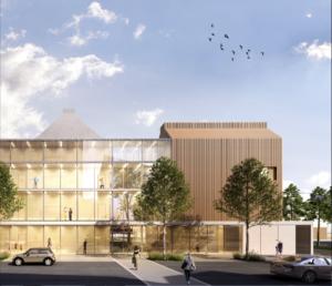Esquisse d'un projet de bâtiment public